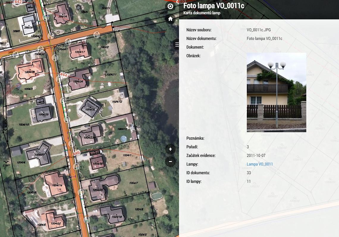 geograficka informační systém obrázek