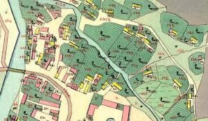 katastrální mapa foto