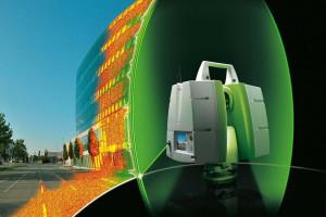 laserové skenování 3D
