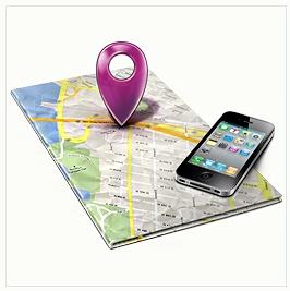 mobilní mapový portál